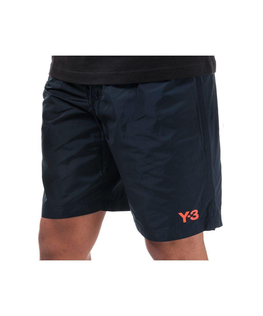 Image for Men's Y-3 Classic Logo Swim Shorts in Navy