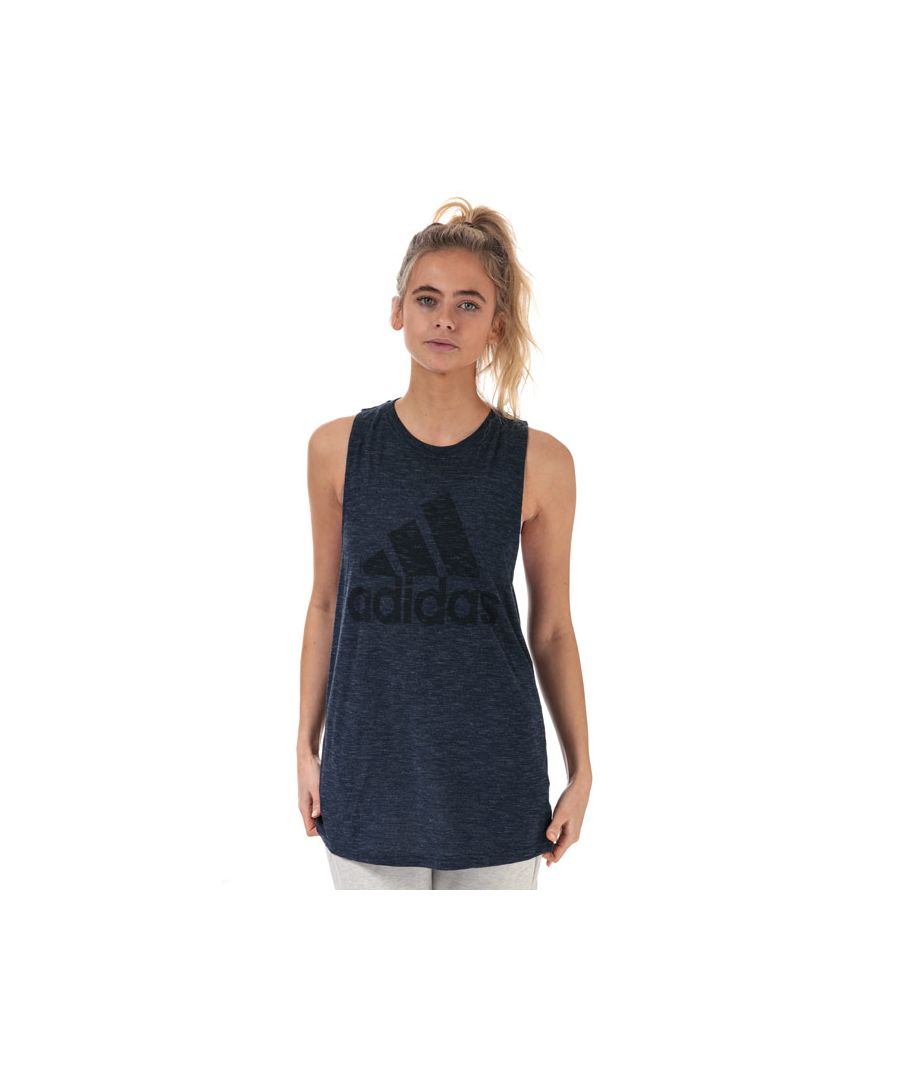 Image for Women's adidas Winners Tank Top in Navy