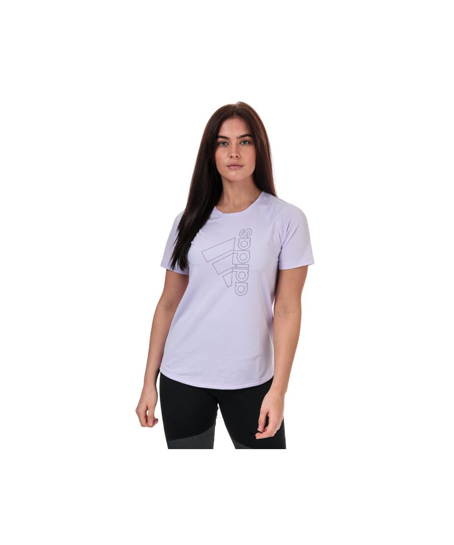 Image for Women's adidas Badge Of Sport T-Shirt in Lilac