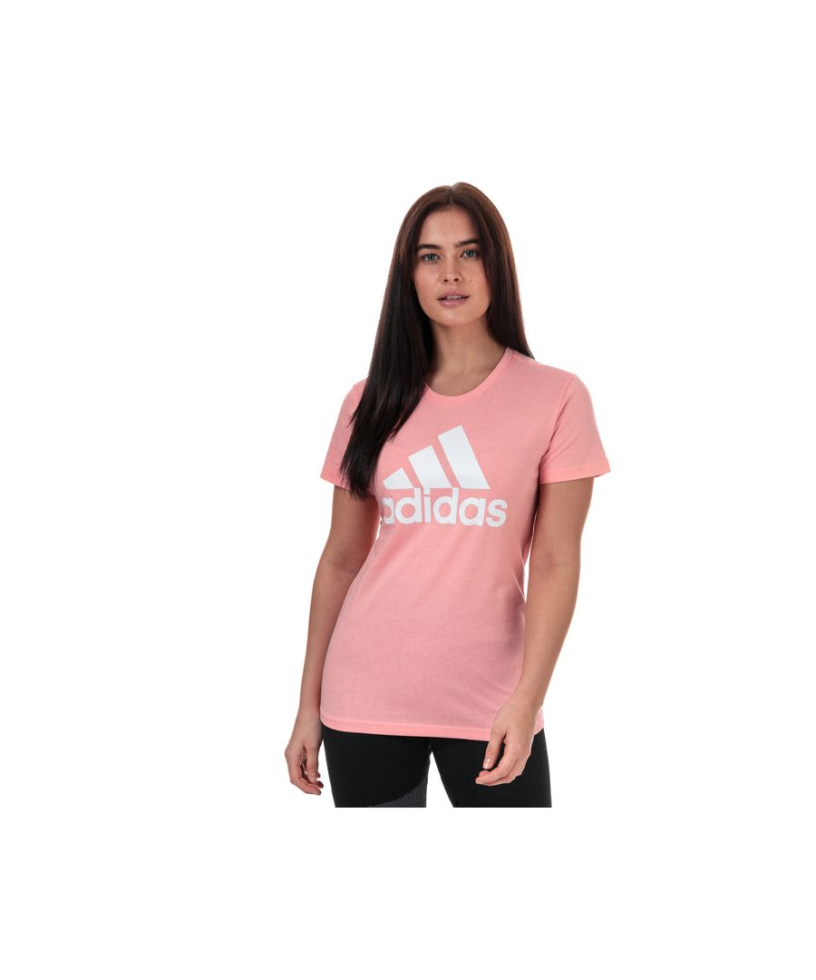 Image for Women's adidas Must Haves Badge Of Sport T-Shirt in Pink