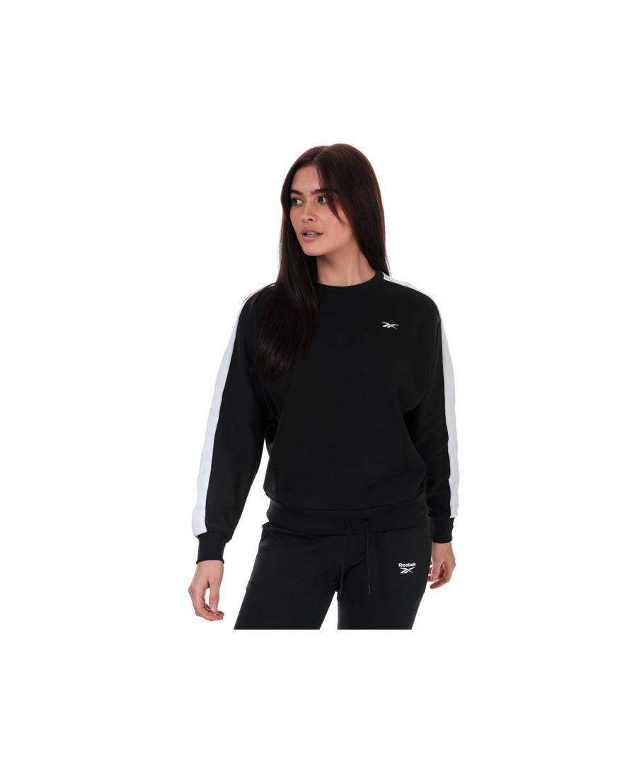 Image for Women's Reebok Sweatshirt in Black-White