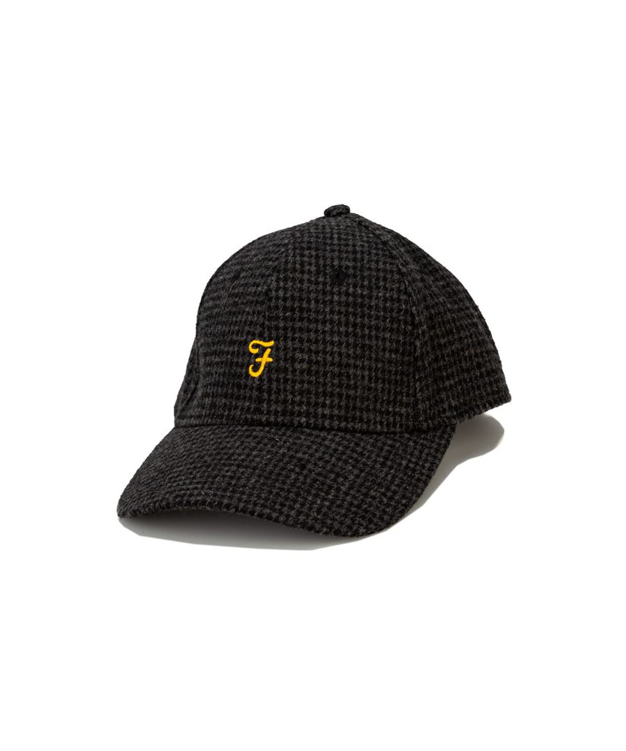 Image for Accessories Farah Lasalle Hounds Tooth Cap in Black