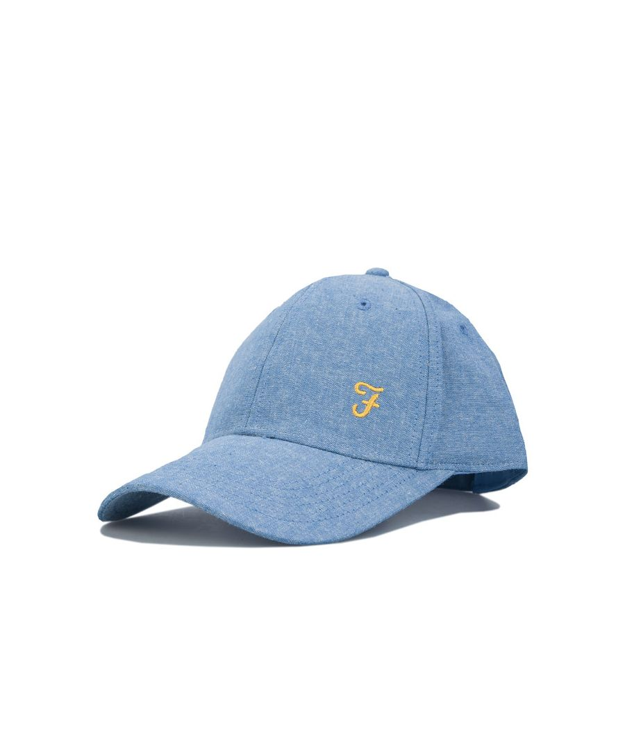 Image for Accessories Farah Richmond Chambray Cap in Blue