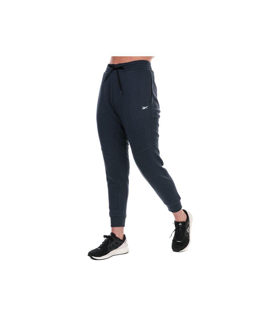 Image for Women's Reebok Linear Logo Pants in Navy