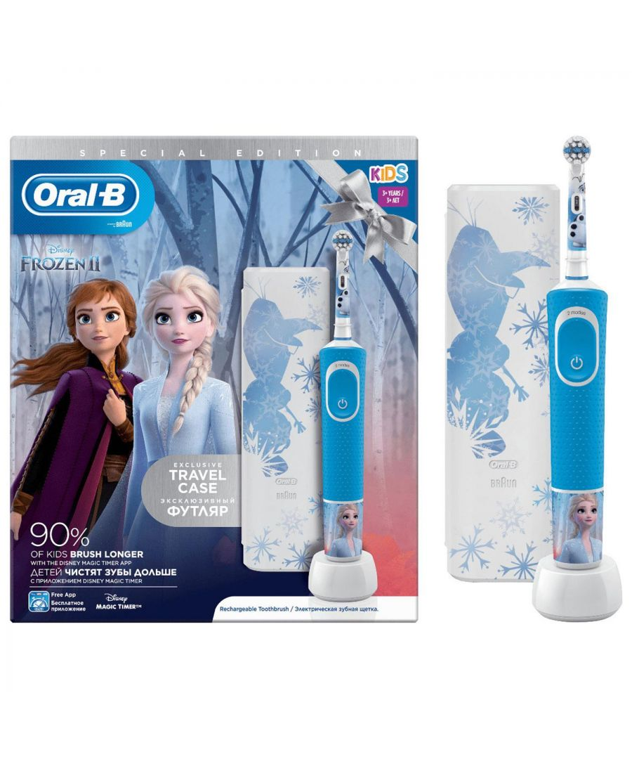 Image for Oral-B Frozen Electric Toothbrush Gift Set + Free Travel Case