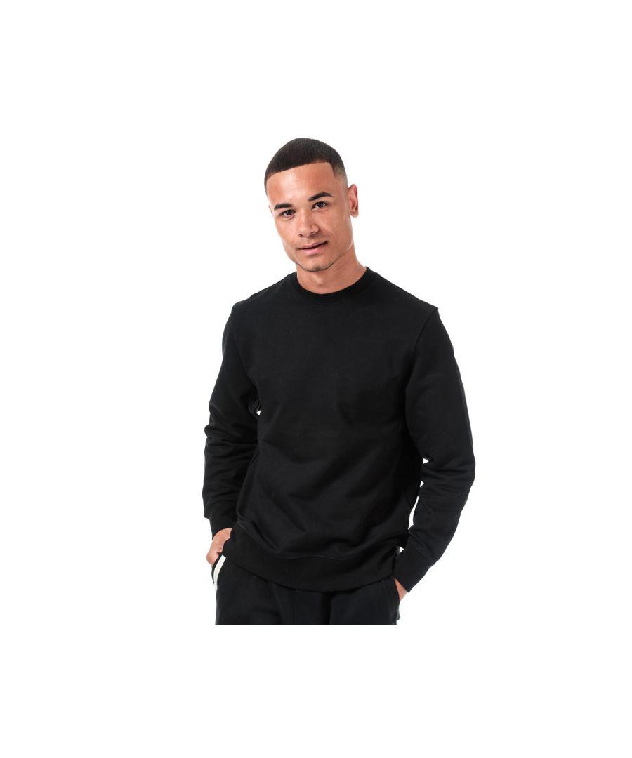 Image for Men's Y-3 Craft Crew Sweatshirt in Black