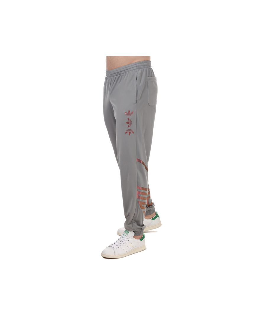 Image for Men's adidas Originals Zeno Trefoil Tracksuit Bottoms in Grey
