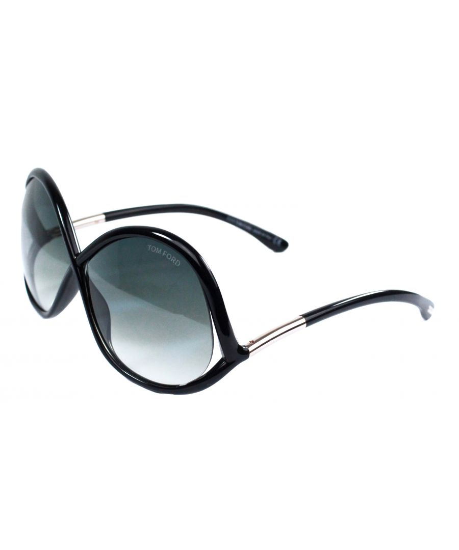 Image for Tom Ford FT0372 Ivanna 01B Sunglasses
