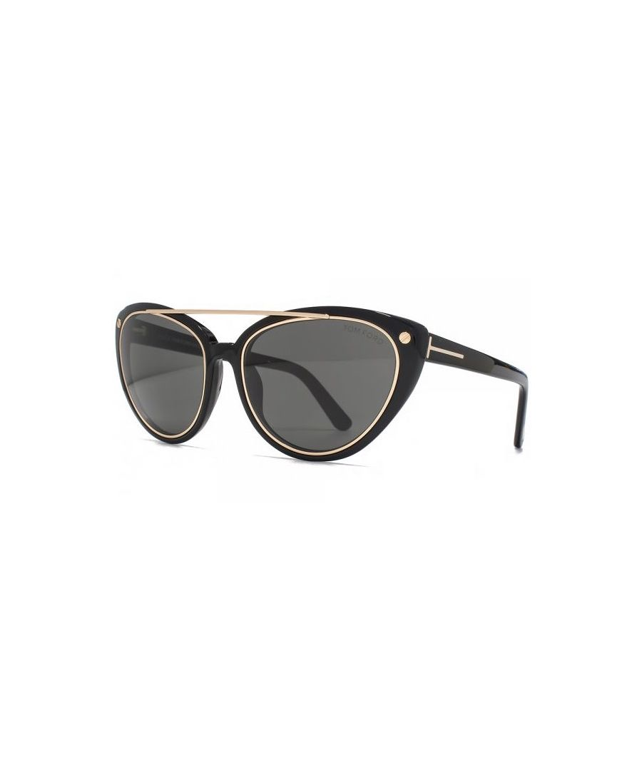 Image for Tom Ford FT0384 Edita 01A Sunglasses