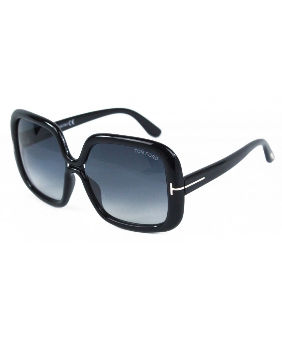 Image for Tom Ford FT0389 Valeria 01B Sunglasses