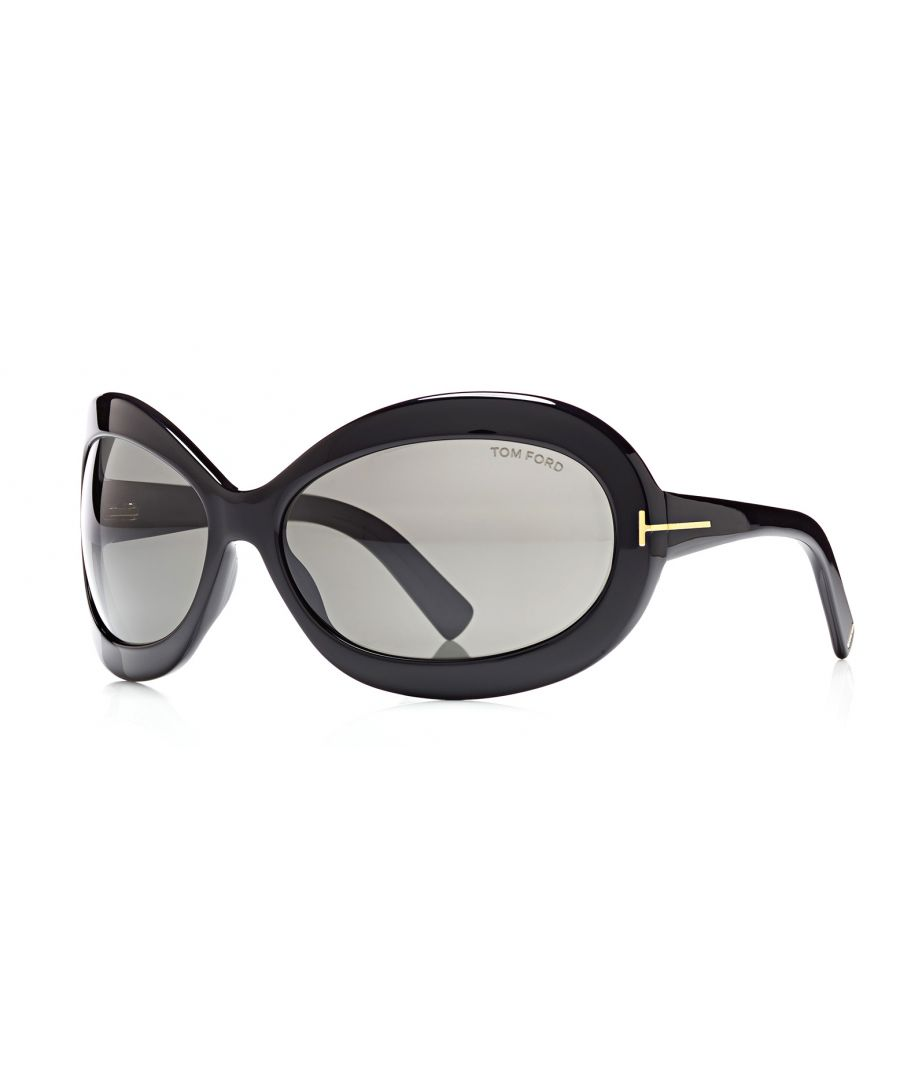 Image for Tom Ford FT0428 Edie 01A Sunglasses