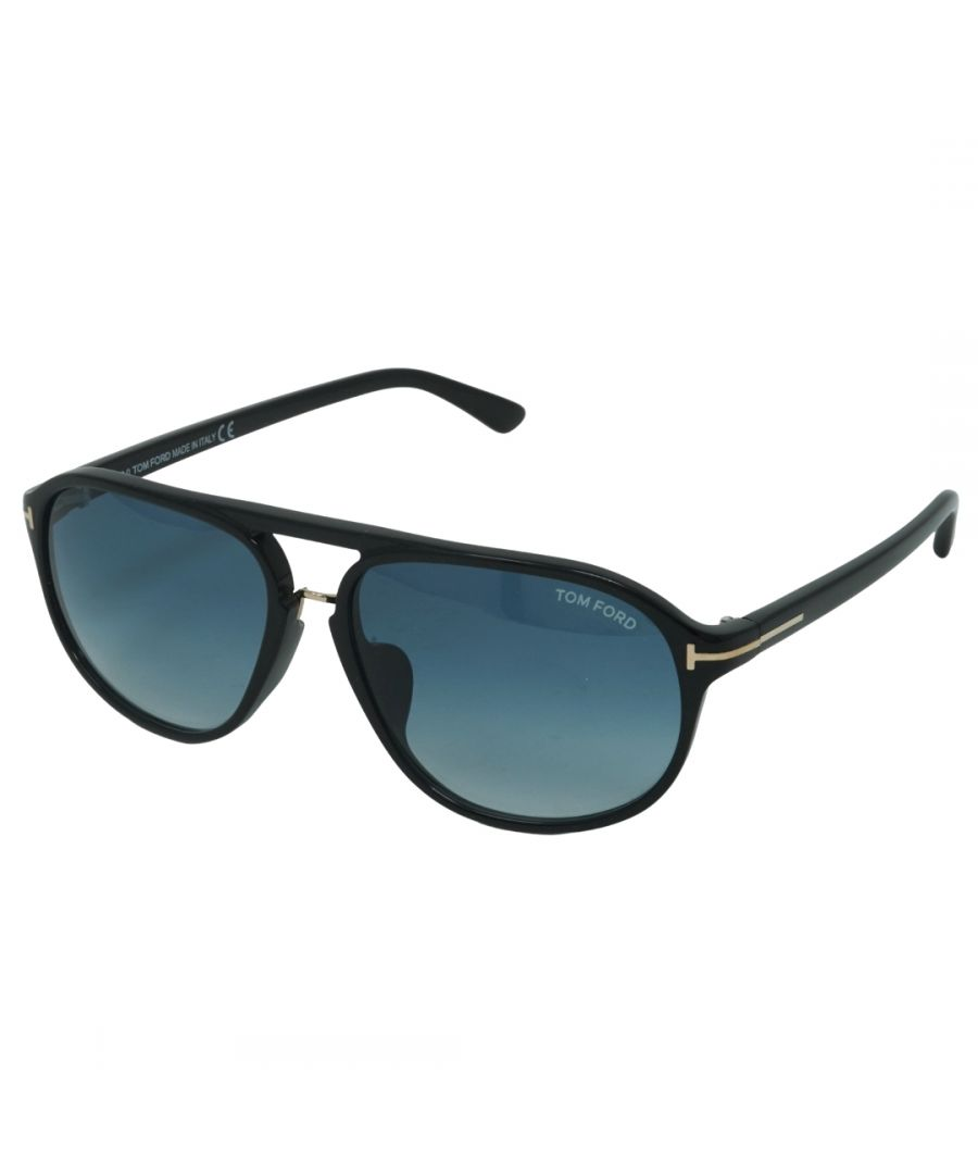 Image for Tom Ford Jacob FT0447-F 01P Sunglasses