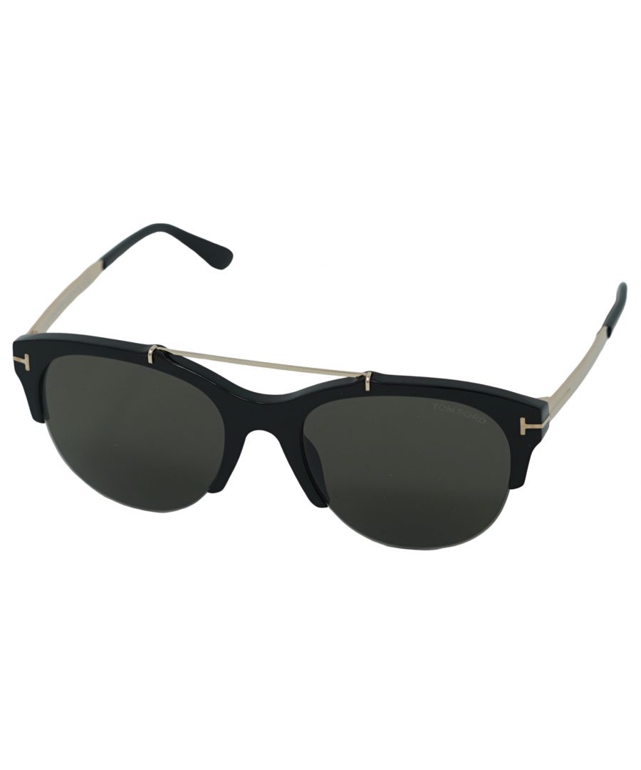 Image for Tom Ford Adrenne Sunglasses FT0517 01A