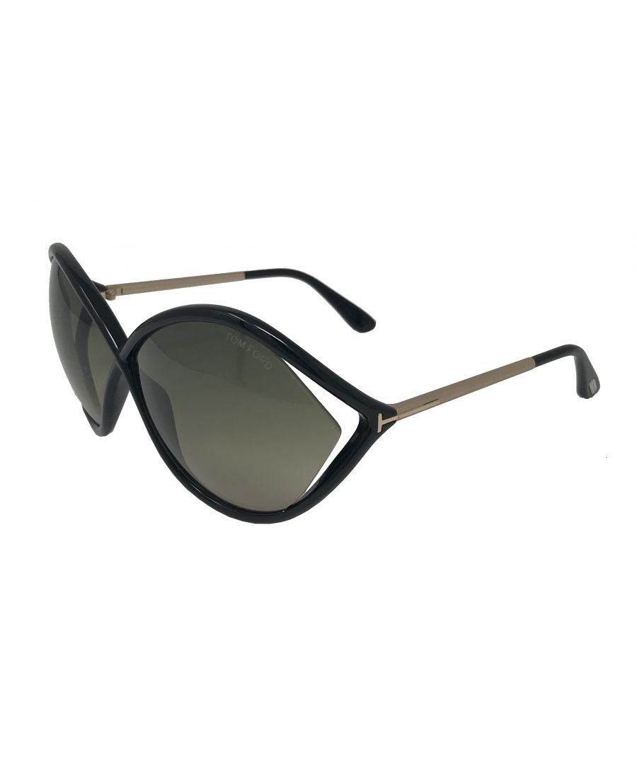 Image for Tom Ford FT0528 Liora 01B Sunglasses