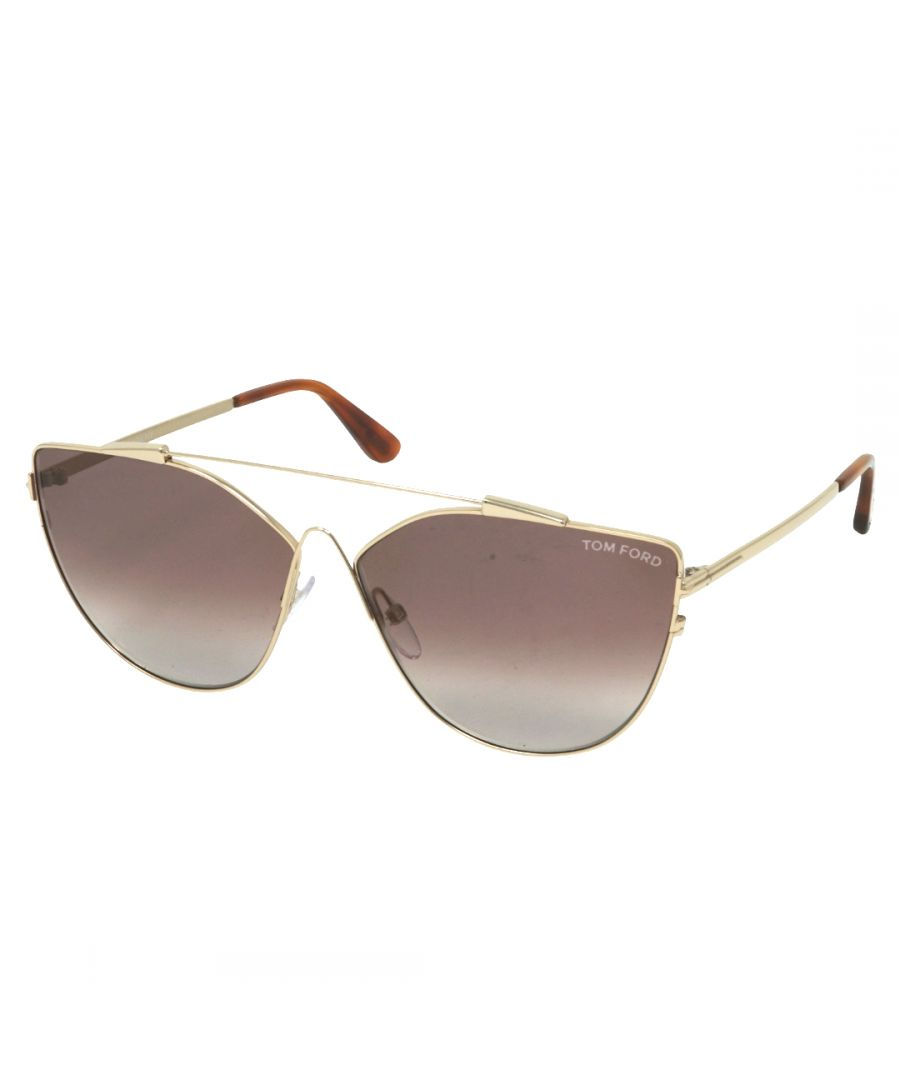 Image for Tom Ford Jacquelyn-02 FT0563 28G Sunglasses