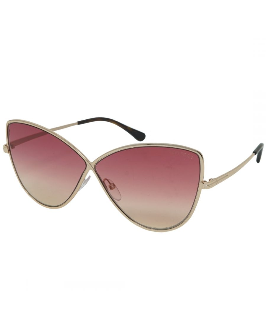 Image for Tom Ford FT0569 28T Elise-02 Sunglasses