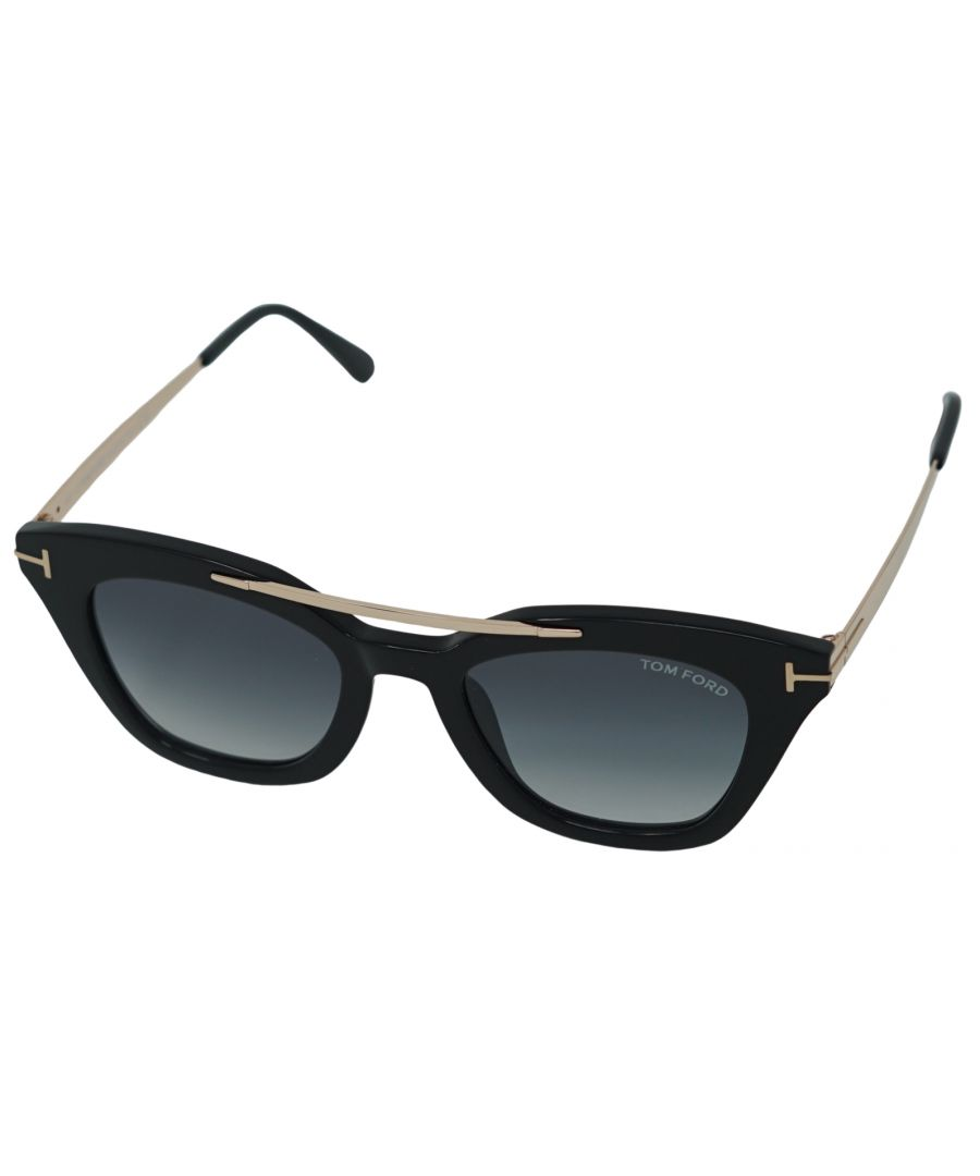 Image for Tom Ford Anna Sunglasses FT0575 01B