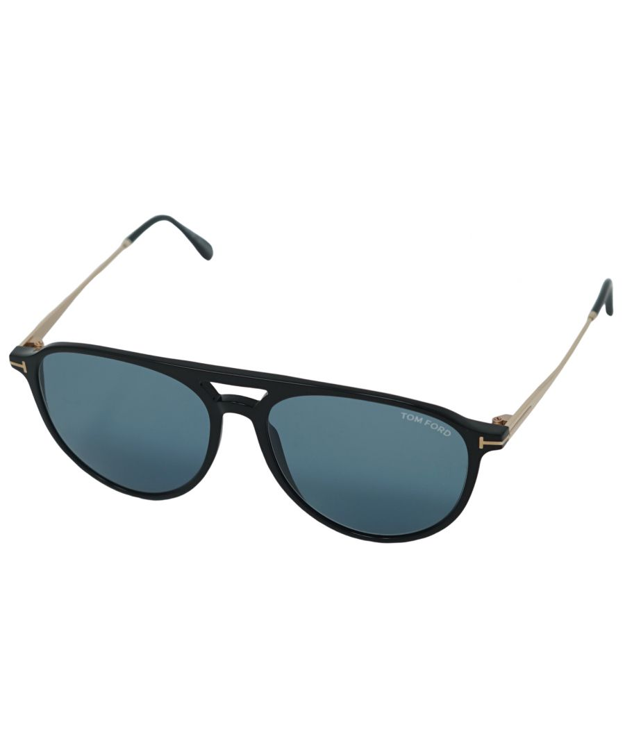 Image for Tom Ford Carlo Sunglasses FT0587 01V