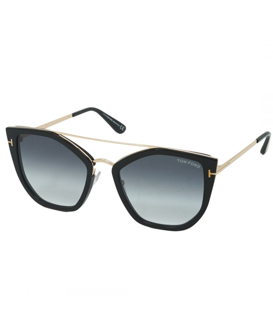 Image for Tom Ford FT0648 01B Dahlia-02 Sunglasses