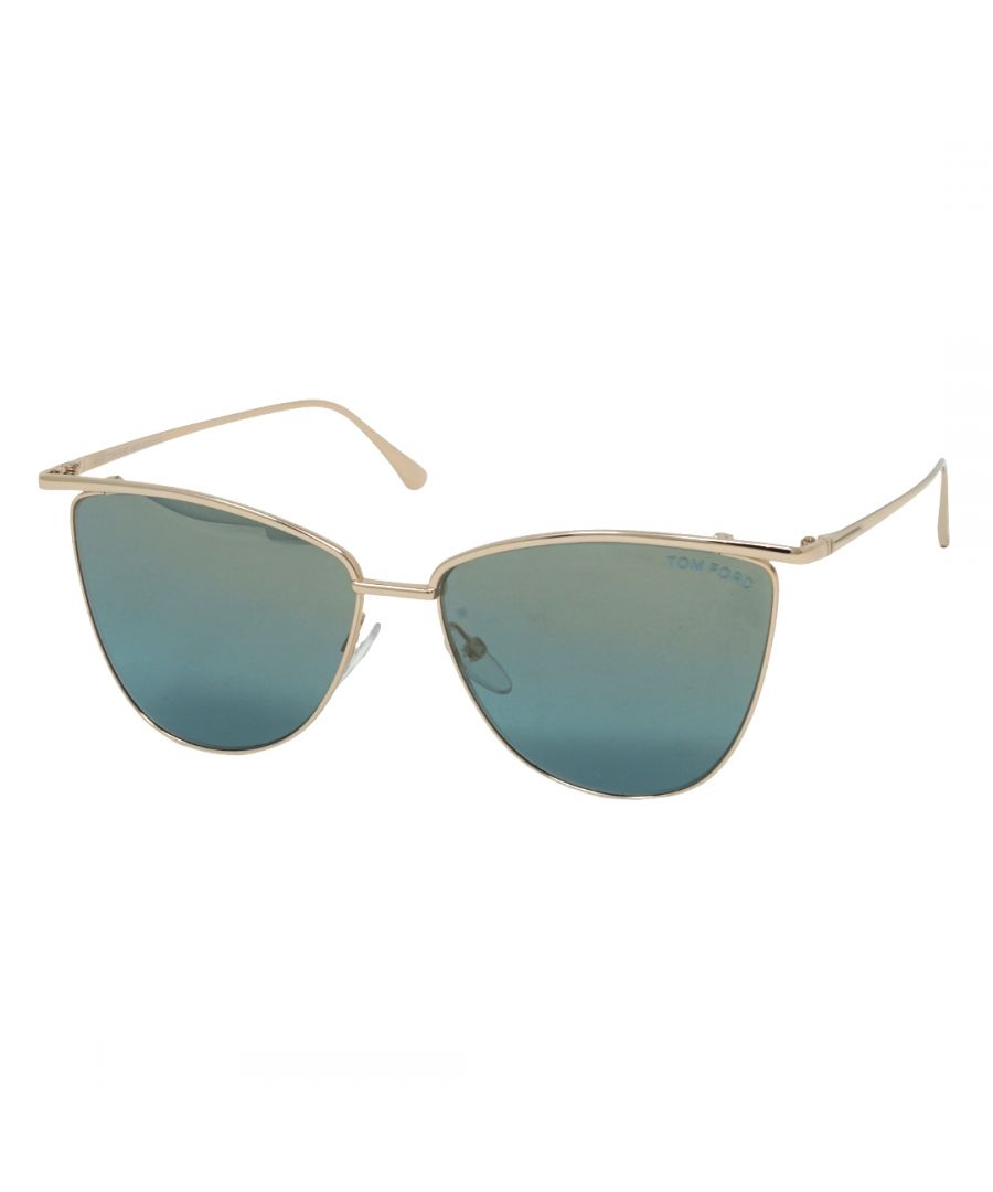 Image for Tom Ford Zeila FT0654 28X Sunglasses
