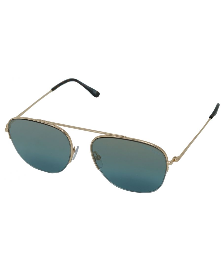 Image for Tom Ford Abott Sunglasses FT0667 28X