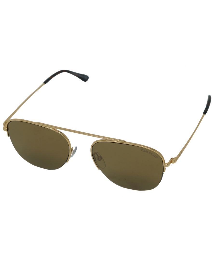 Image for Tom Ford Abott Sunglasses FT0667 30G