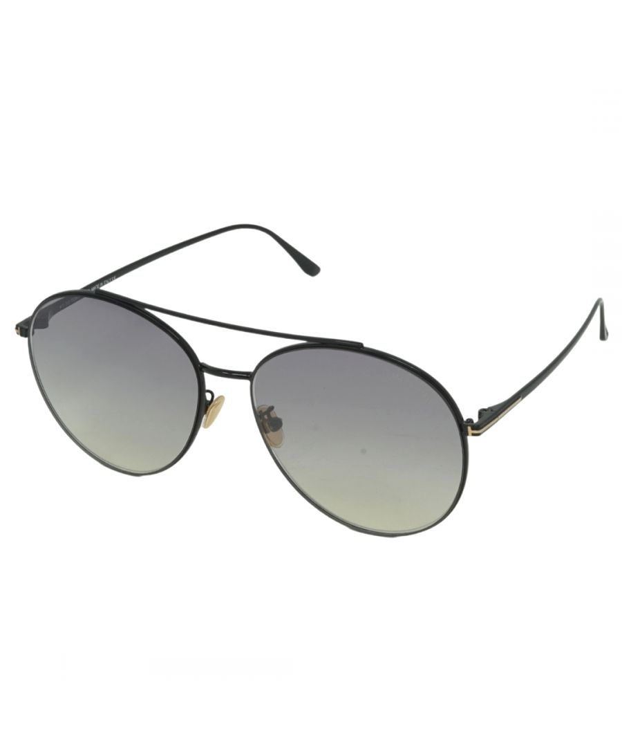 Image for Tom Ford Cleo FT0757-D 01C Sunglasses