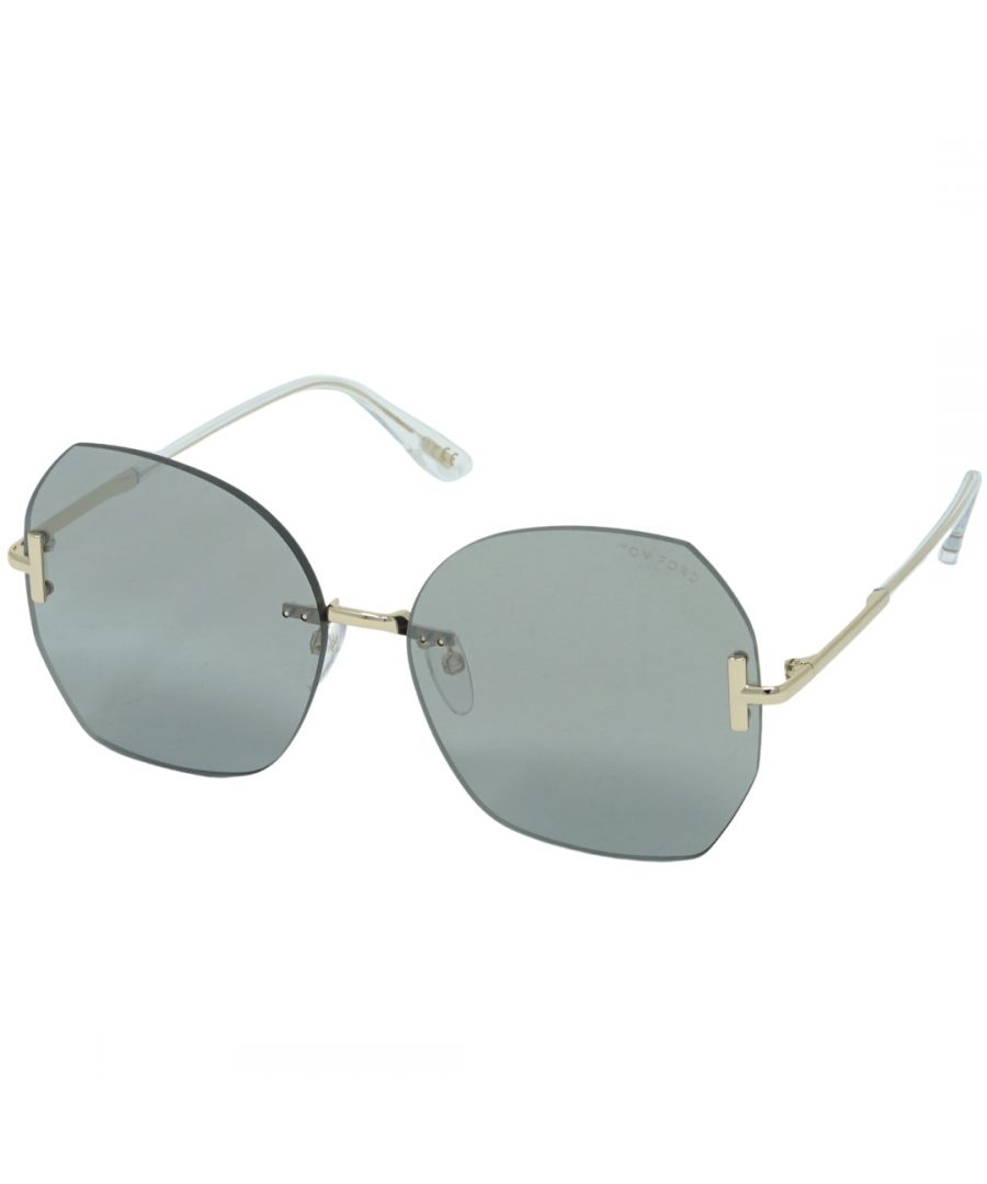 Image for Tom Ford FT0810-K 32C Asian Fit Sunglasses
