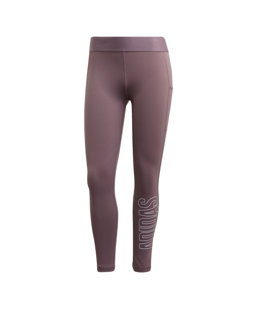 Image for adidas Alphaskin 7/8 Womens Legging Purple