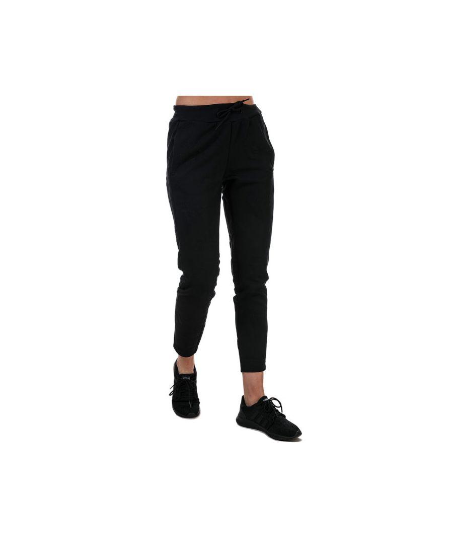 Image for Women's adidas AEROREADY Jacquard Logo Joggers Black 4-6in Black