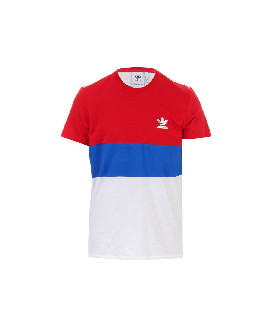 Image for Men's adidas Originals Trefoil T-Shirt in red white
