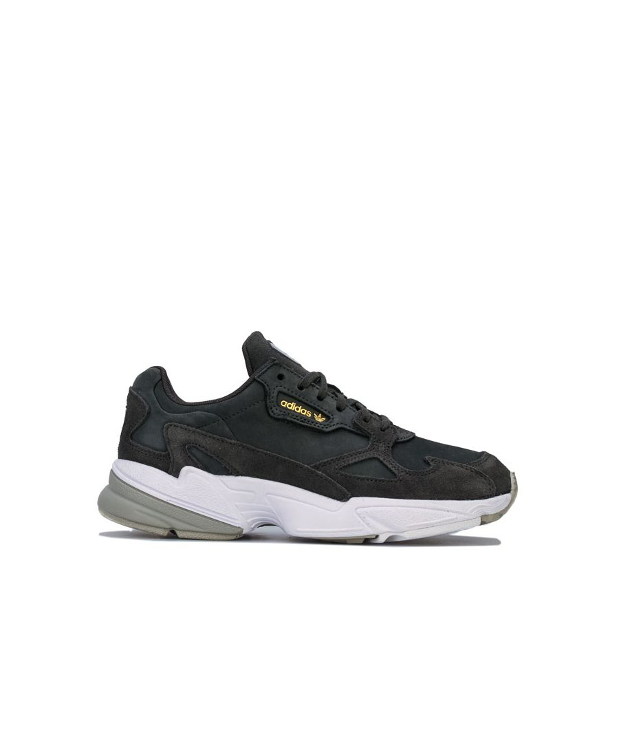 Image for Women's adidas Originals Falcon Trainers in Olive