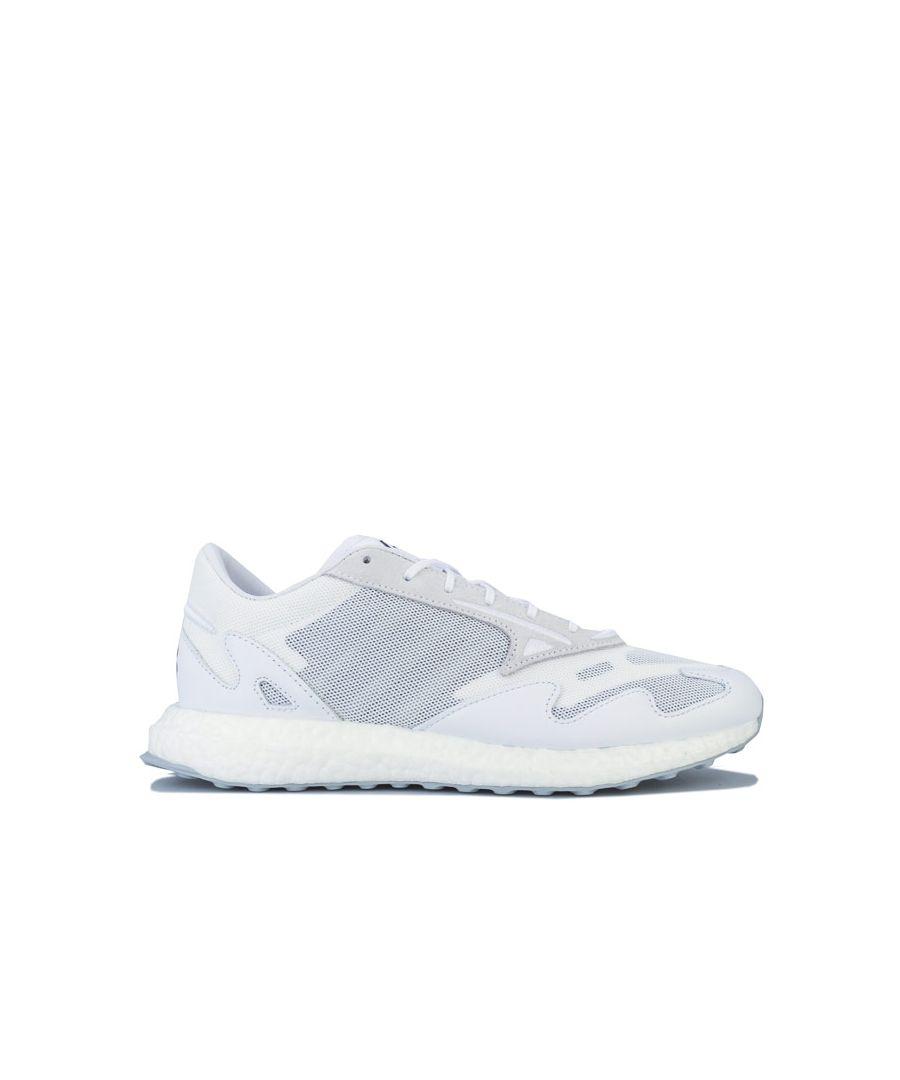 Image for Men's Y-3 Rhisu Run Trainers in White