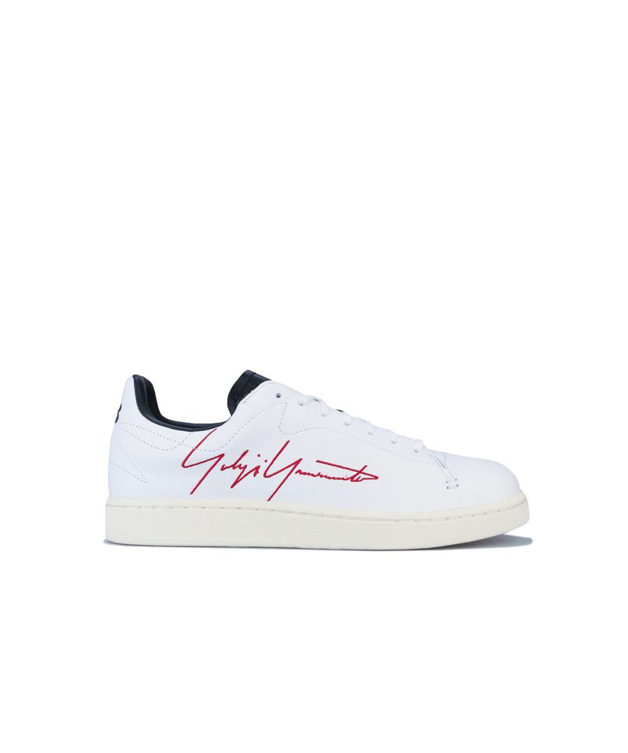 Image for Men's Y-3 Yohji Court Trainers in White