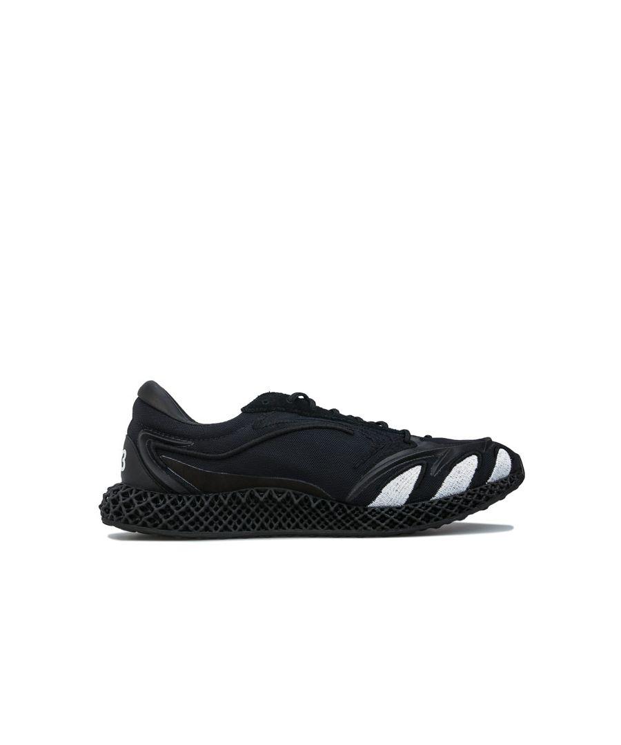 Image for Men's Y-3 Runner 4D Trainers in Black