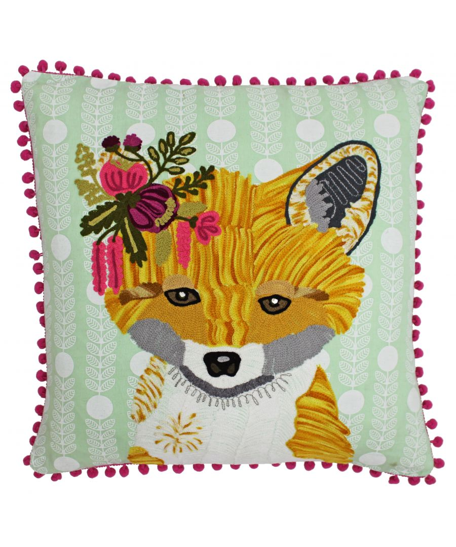 Image for Funky Fox 45X45 Poly Cushion Multi