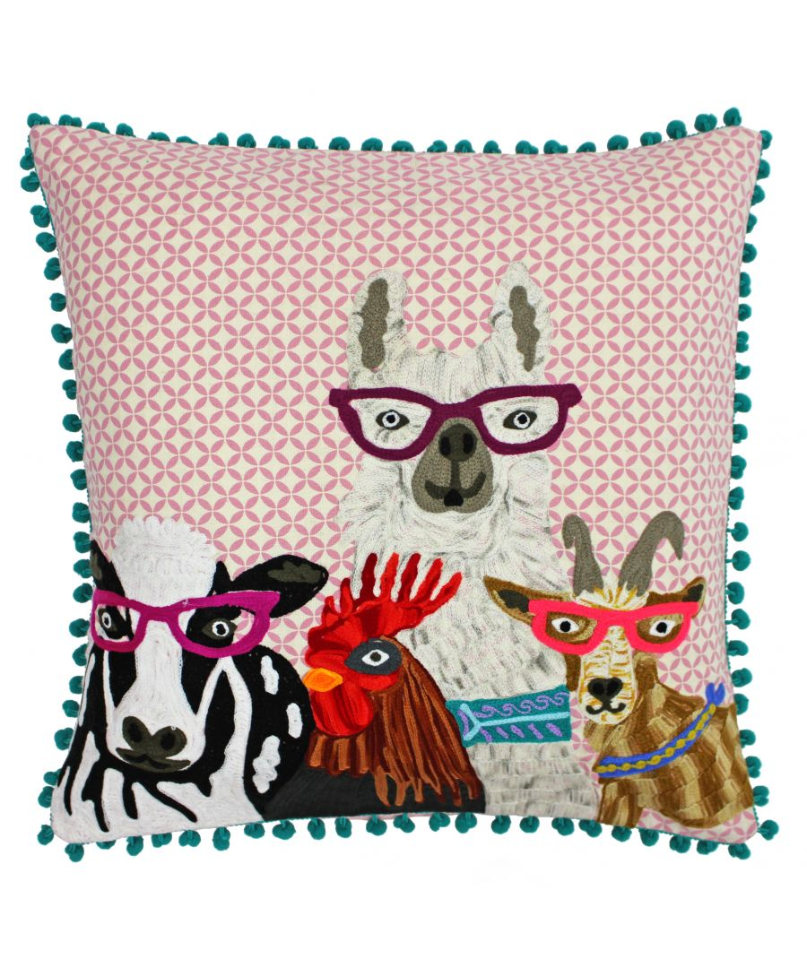 Image for Funky Selfie 45X45 Poly Cushion Mul