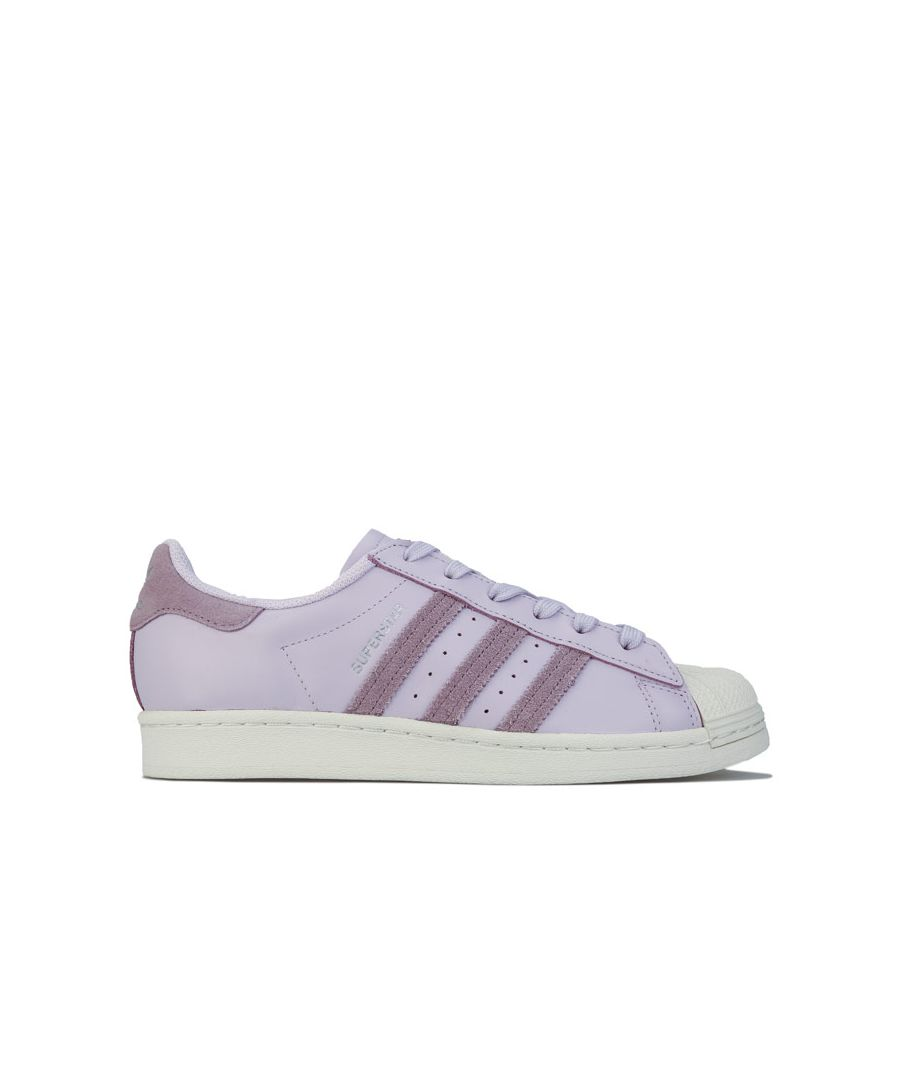 Image for Women's adidas Originals Superstar Trainers in Lilac