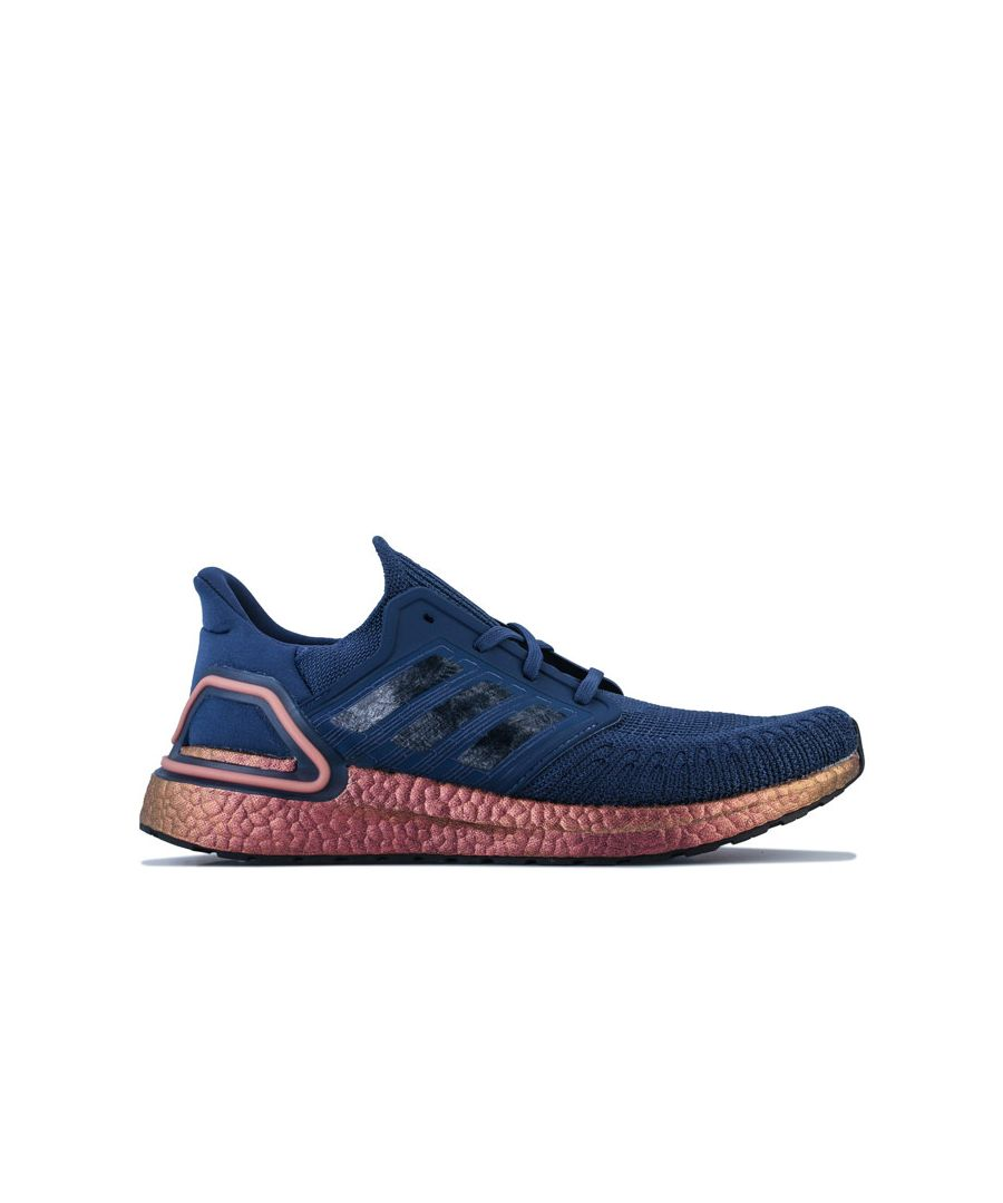 Image for Men's adidas Ultraboost 20 Running Shoes in Indigo