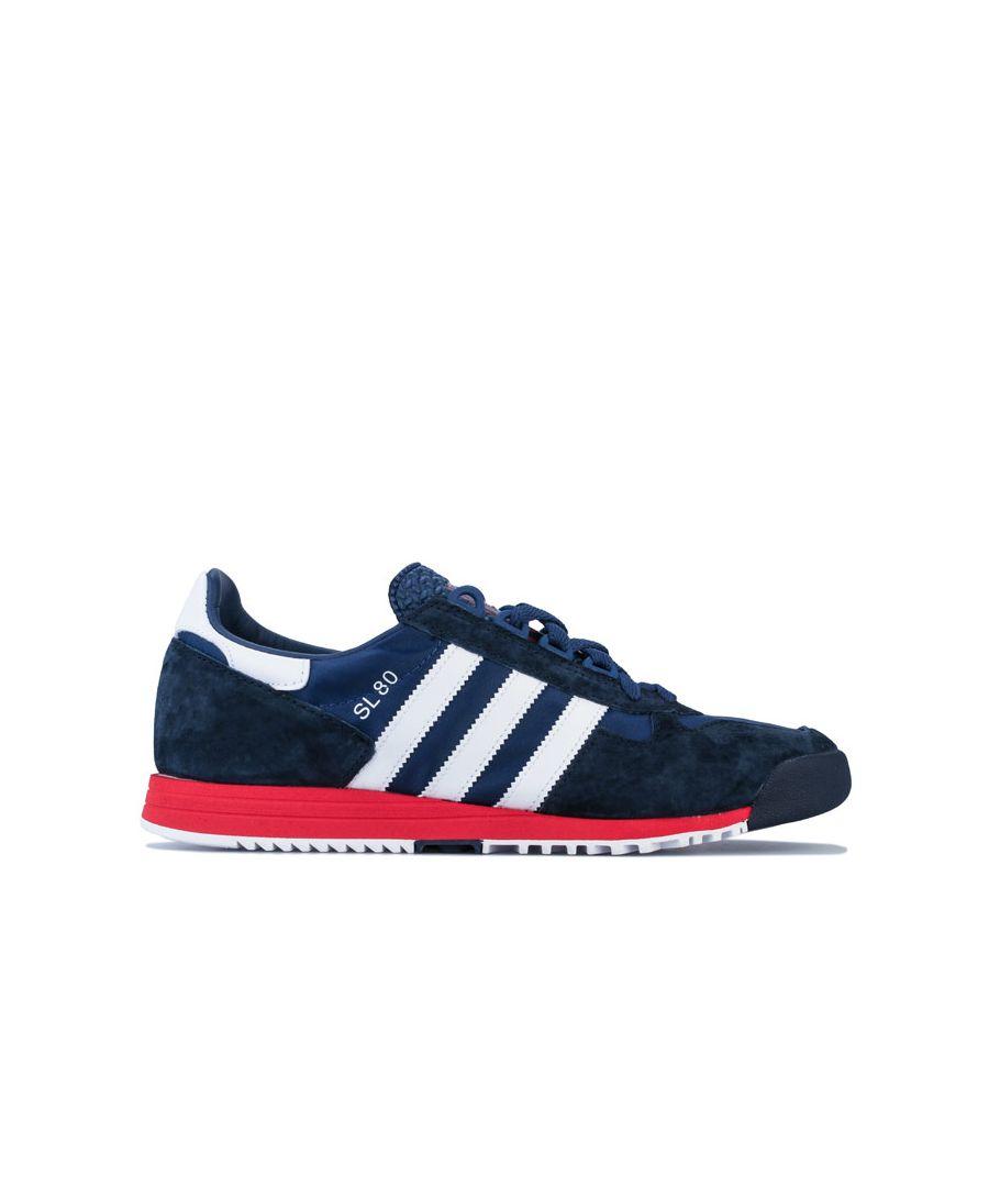 Image for Men's adidas Originals SL 80 Trainers in Indigo