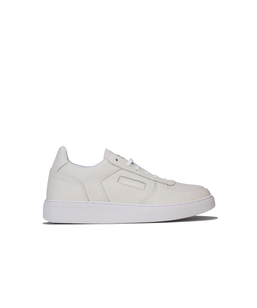 Image for Men's Lyle And Scott McMahon Trainers in White