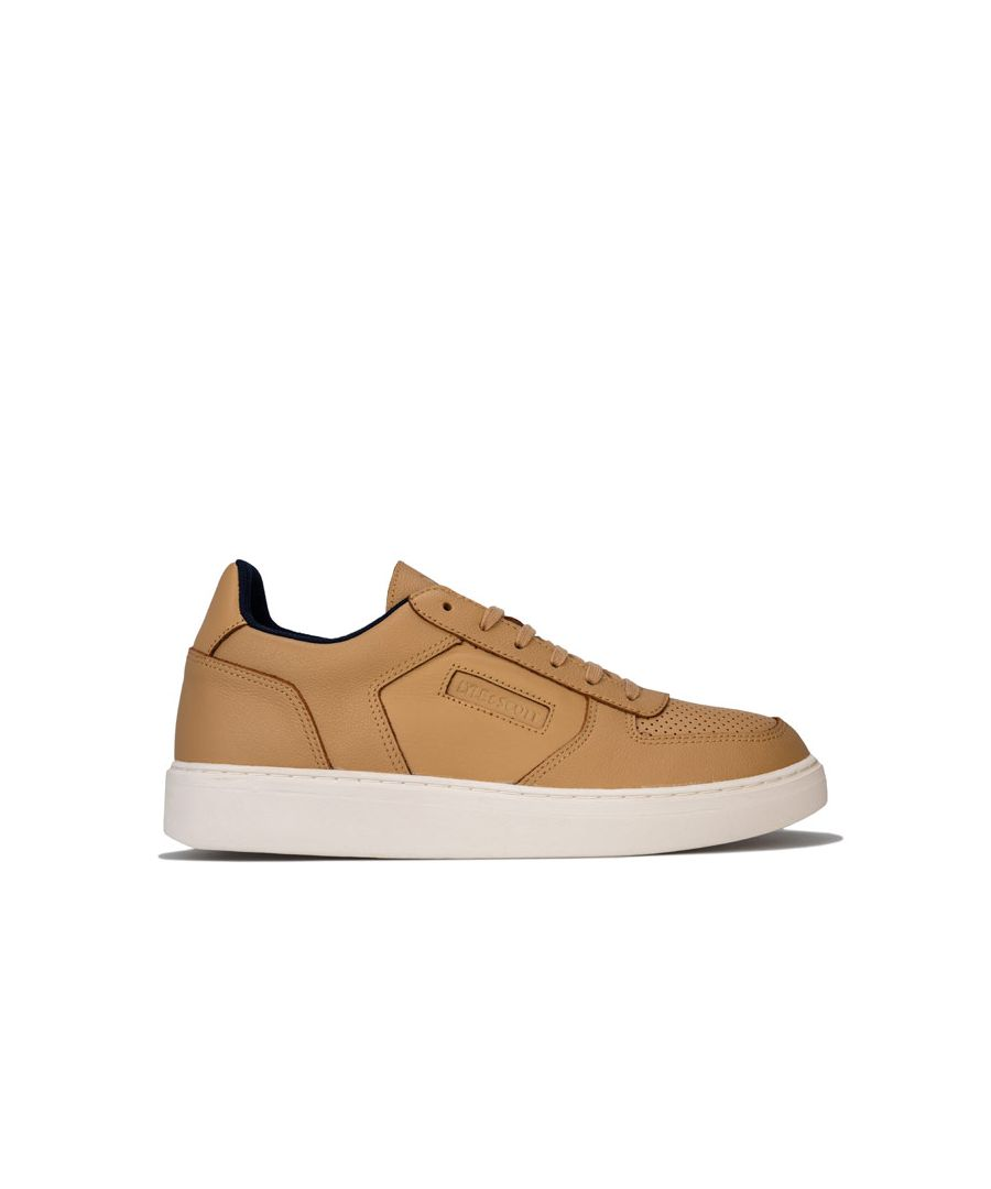 Image for Men's Lyle And Scott McMahon Trainers in Tan