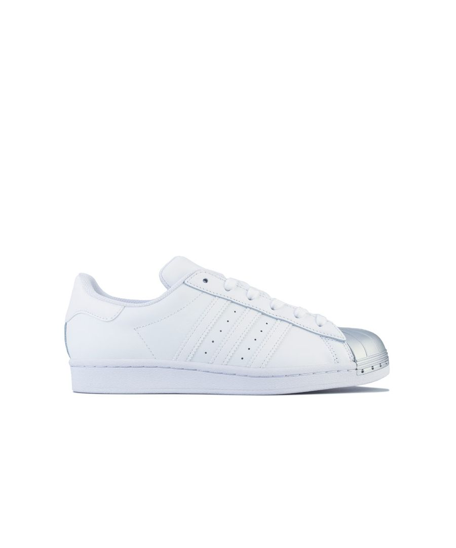 Image for Women's adidas Originals Superstar Trainers in White silver