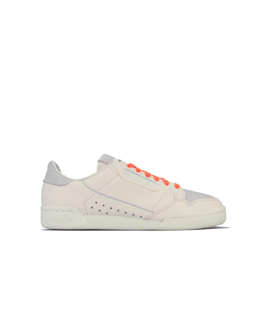 Image for Adidas Originals Pharrell Williams Continental 80's Trainers in Ecru
