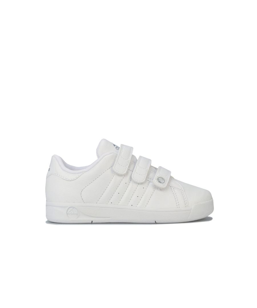 Image for Boy's adidas Junior BTS Class Trainers in White