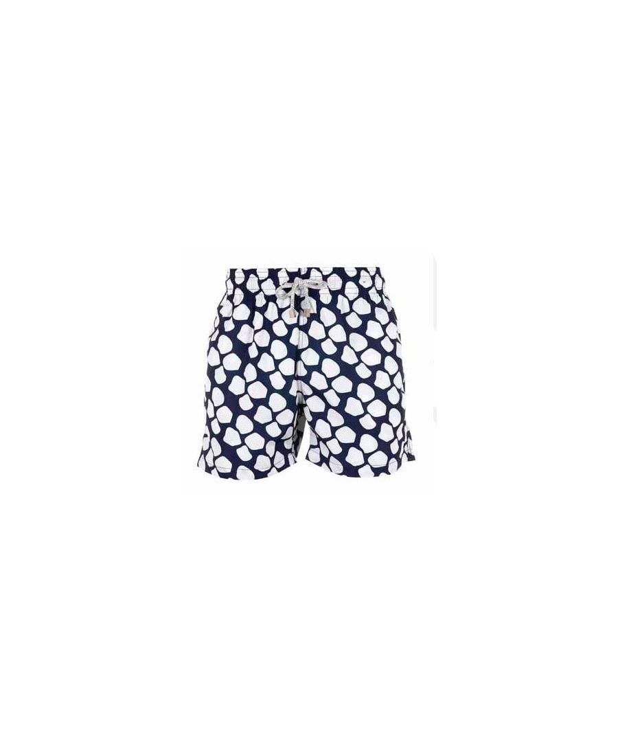 Image for Men's Blue Giraffe Swim Shorts
