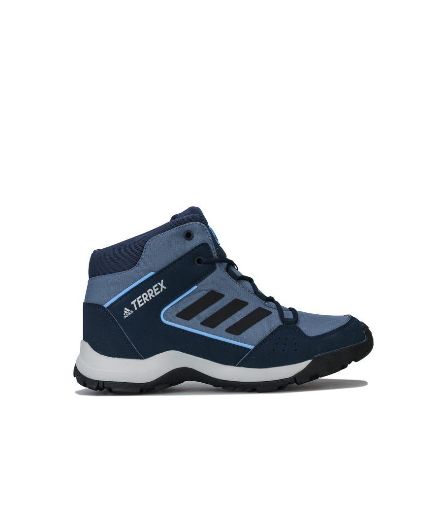 Image for Boy's adidas Junior Terrex Hyperhiker Hiking Shoes in Navy