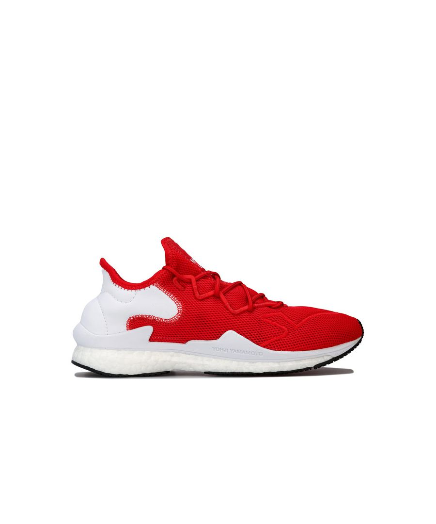 Image for Men's Y-3 Adizero Runner Trainers in red white