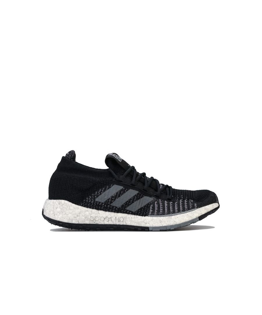 Image for Men's adidas Pulse Boost HD Running Shoes in Black