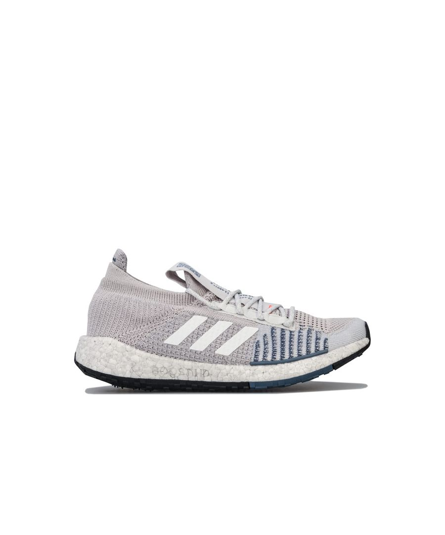 Image for Men's adidas Pure Boost HD Running Shoes in Grey
